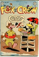 Fox and the Crow #11-Funny Animal Violence-Pre-Code VG-