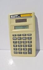 Vintage Sharp Elsi Mate EL-243C Solar Cell Calculator   working and tested 2019