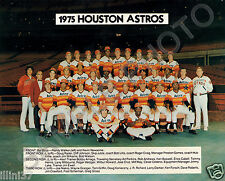 1975 HOUSTON ASTROS BASEBALL 8X10 TEAM PHOTO PICTURE