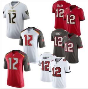 Neu legendäre neue NFL Buccaneers Buccaneers 12 Tom Brady Jersey