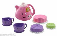Fisher-Price Laugh and Learn Smart Stages Tea Set With Magic Tunes New
