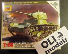 1/100 Soviet Light Tank T-26 - Zvezda 6113