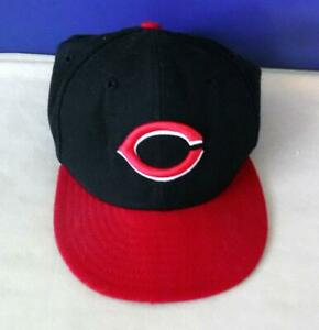 New Era 59FIFTY Cincinnati Reds Authentic Performance Fitted Kids 6 1/2 Baseball