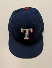 Texas Rangers 59Fifty Fitted MLB Baseball Cap Authentic Collection Sz 6 1/2