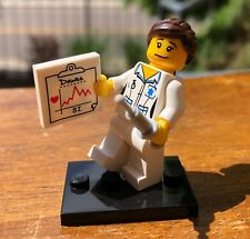GENUINE LEGO COLLECTIBLE SERIES ONE 1 NURSE ONLY FROM 8683 MINIFIGURE ORIGINAL