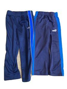 Boys Track Pants Size Small SM 5 - Gap GapFit Puma - Lot Of 2