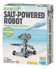 Salt Water Powered Robot Kit Science Experiments Kids Learning Robotic Toy Play