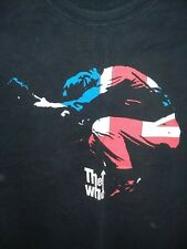 The Who Shirt 2 sides size Large Roger Daltrey Pete Townsehnd Hanes