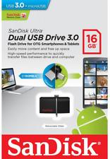 SANDISK ULTRA 16GO USB DUAL DRIVE USB 3.0 UP TO 130MO S READ SDDD2-016GGAM46