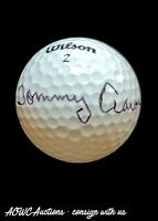 Golf Ball - Signed by Tommy Aaron - 1973 Masters Winner - JSA