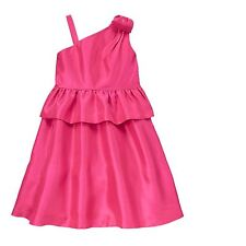 Gymboree Bright Ideas Candy Pink Bow Shoulder Fancy Party Dress Girls 8 NEW NWT
