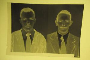 Lot de 120 Négatif Migrant Photomaton Immigartion Vers 1960/70