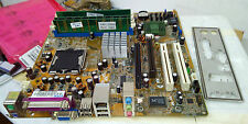 Asus P5GLV-MX LGA775 Motherboard with 3GHz CPU, 512MB Memory & I/O Plate
