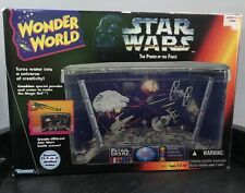 Star Wars Power of the Force Wonder World Water Play Aquarium Model Ship Decor