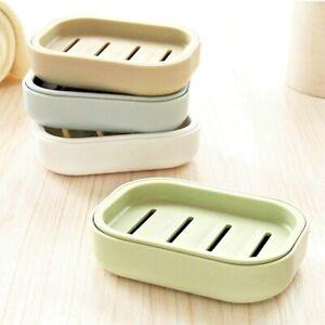Drain Soap Dispenser Dish Case Holder PP Plastic Material Container Double Latti