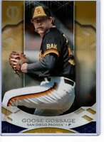 Goose Gossage 2019 Topps Tribute 5x7 Gold #64 /10 Padres