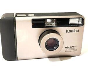 Konica Big Mini BM-300 Point & Shoot Film Camera Nice Tested