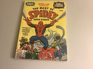The Best Of Spidey Super Stories TPB 1978 Fireside 1st re: Electric Company