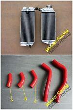 Fit Honda CRF450R Aluminum Radiator&Silicone Hose 2005-2008 2006 2007