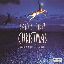 New: : Baby's First Christmas: Music Box Lullabies  Audio Cassette