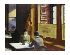 Chop Suey, 1929 by Edward Hopper Art Print Poster Restaurant Cafe 11x14