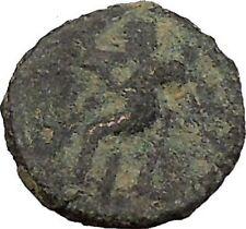 BERYTOS in PHOENICIA 218AD Satyr Marsyas Galley Ship   Ancient Greek Coin i36680