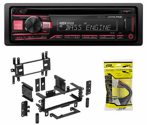 ALPINE CD Receiver Stereo Android/MP3/WMA/USB/AUX for 1993-1997 Mazda MX-6