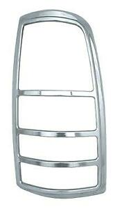 This Fits The 1999-02 Chevy Siverado / GMC Sierra ABS Tail Light Bezels