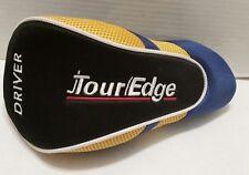 Tour Edge Driver Golf Club Cover Blue Yellow Black