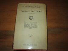Vida Sackville-West COLLECTED POEMS Hogarth Press First Edition in jacket 1933