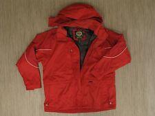 Cabela's Dry Plus Red Nylon Jacket Men's Size XL Zip Front Light Parka Outdoor