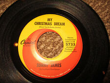 Sonny James 'Barefoot Santa Claus/My Christmas Dream'  45 EX