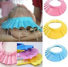 SeniorMar-UK Hochelastische modische Babyparty verstellbare Kappe Kinder Shampoo Badw/äsche Haarschild Hut Badebeine