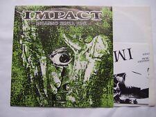 """IMPACT  inganno senza fine 7"""" EP   indigesti wretched  negazione ccm raw power"""
