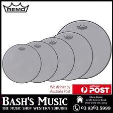 Remo Silent Stroke 5 Piece Drumhead 10, 12, 14, 16, 22 Silentstroke Drum Skins