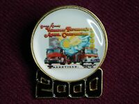 VINTAGE PIN PINBACK 2000 GREENE COUNTY VOLUNTEER FIREMEN'S ASSOC CONVENTION