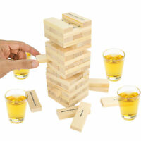 Dunken Blocks Shot Glass Drinking Game, A Tower Of Fun! Gag Gift White Elephant