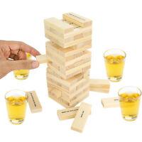 Dunken Blocks Shot Glass Drinking Game, A Tower Of Fun! Gag Gift White Elephant