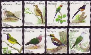 Malaysia Birds 8v full set 2005  MNH wmk inverted first print rare