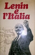 M A Kharlamova A CURA DI LENIN E L'ITALIA EDIZIONI PROGRESS  MOSCA 1971