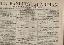 More details for the banbury guardian  september 13th 1894  original antique newspaper e2.628