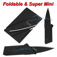 Hot Outdoor Credit Card Knife Thin Cardsharp Folding Pocket Knife Camping Knife