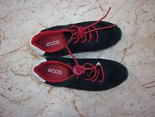 Childrens Ecco Navy Leather Shoes Trainers EU size 30 / UK