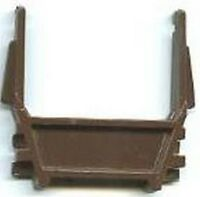 BROWN PIPE HOLDER Gondola Car for American Flyer S Gauge Scale Trains Parts