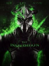 POSTER DRAGON AGE: INQUISITION ORIGINS 2 II VIDEOGAME PS3 PS4 DRAGO LOCANDINA #1