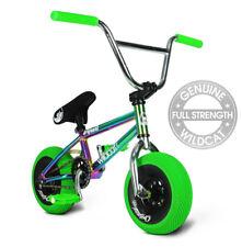 Wildcat Mini BMX Bikes Rocker Stunt Oil Slick Cro-Moly Bars 12 Mth Warranty GGA