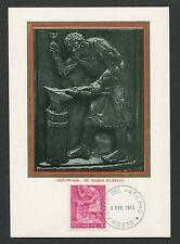 Vatican MK 1966 professioni fabbro Smith Maximum carta carte MAXIMUM CARD MC cm d6886