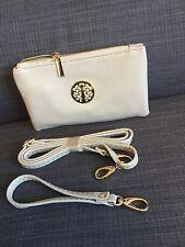 Small Grey Clutch Bag Crossbody Handbag Shoulder Wallet Coin Purse