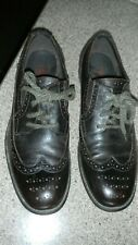 Men's Kenneth Cole REACTION Brown Leather Wingtip Oxford Shoes  11 M
