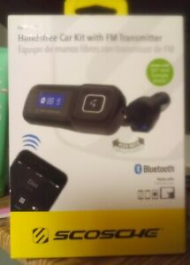 Scosche BTFREQ Universal Bluetooth hands-free car kit with FM Transmitter